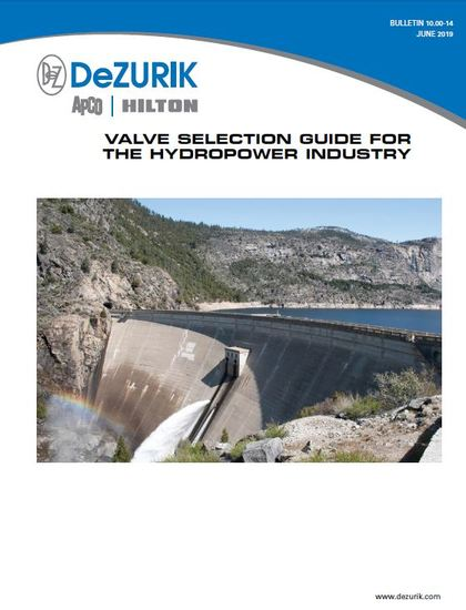 Valve Selection Guide for Hydropower Now Available