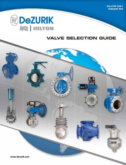 DeZURIK has released a new Valve Selection Guide