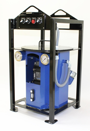 DeZURIK's new HydraStorm Hydraulic Power Unit (Read More)