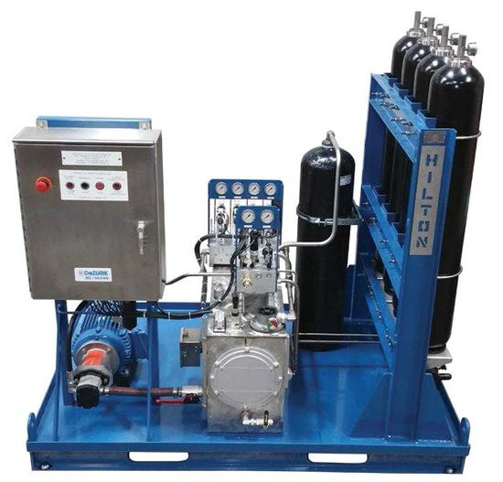 Dezurik Dezurik S Custom Hydraulic Power Unit Hpu