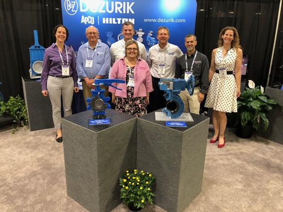 DeZURIK Exhibits at Hydrovision International