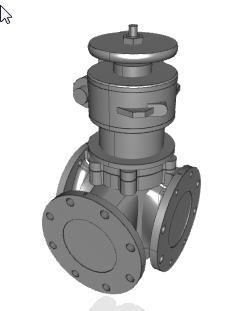 CAD Models for 3-Way and 4-Way Plug Valves Now Available