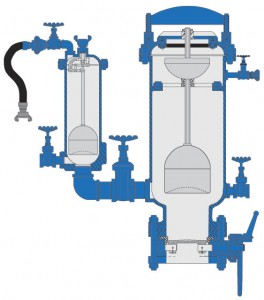Dual Body Sewage Combination Air Valves (ASD)