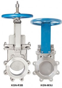 Cast Stainless Steel Knife Gate Valves (KGN-RSB & KGN-MSU)
