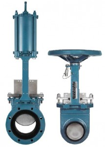 Urethane Lined Knife Gate Valves (KUL)