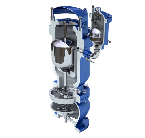 Dezurik Apco Dual Body Combination Slow Closing Air