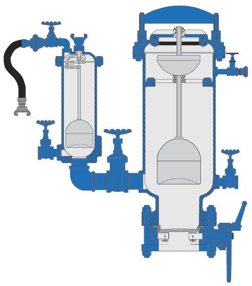 Dezurik Apco Dual Body Sewage Combination Air Valves Asd