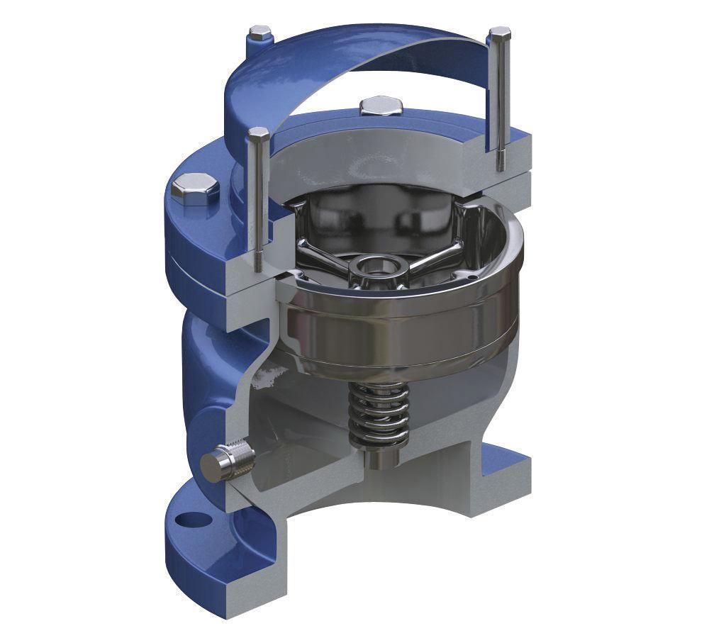 Dezurik Apco Vacuum Relief Air Inlet Valves Avr