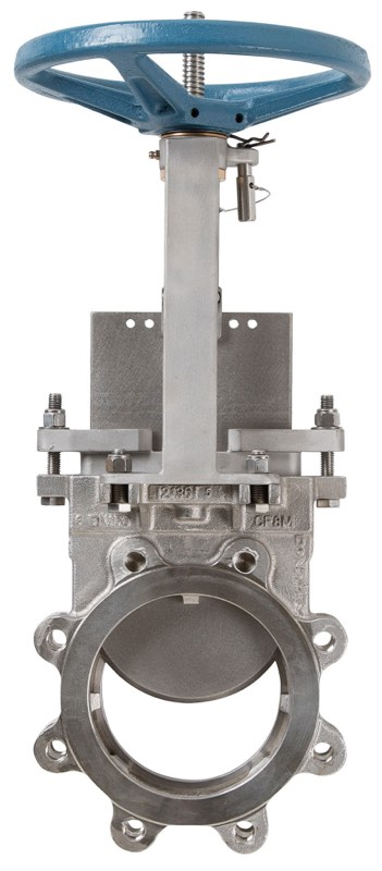 Knife gate valve / manual / for wastewater / cast iron hera-bd.