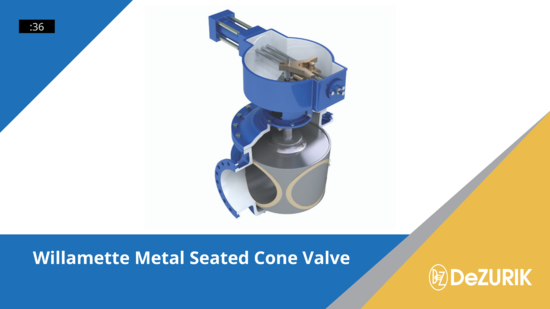 Willamette Metal Seated Cone Valve Video