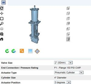 Dezurik Ksl Sd Slurry Knife Gate Valves 3d Cad Files Available From Dezurik