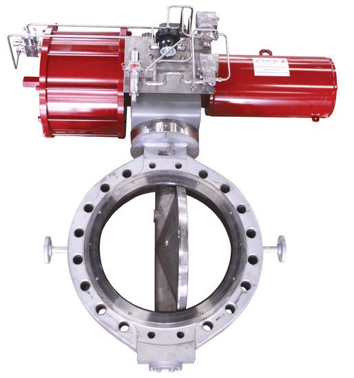 Specially Designed DeZURIK Tail Gas Butterfly Valves Solve Issues with Media Solidification