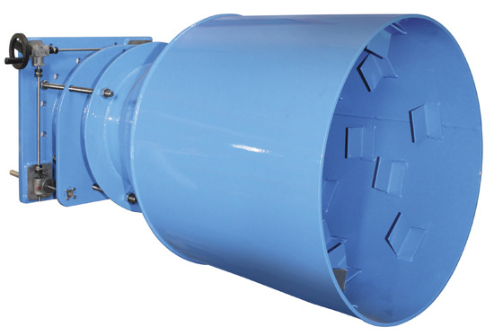 Hilton Fixed Cone Valve for Continuous Flow Control in Free Discharge Applications