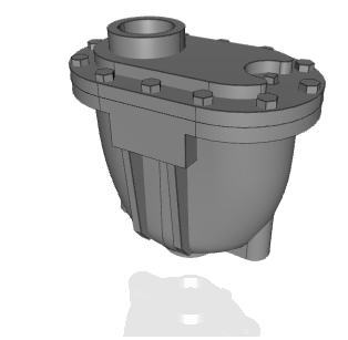 CAD Models for APCO Single Body Combination Air Valves (AVC)